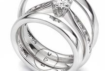 Engraving Inspiration / Ideas and inspiration for engravings. A perfect place to browse many engraved wedding ring ideas, from sentimental words, to song lyrics.