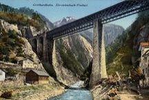Gotthard / Images, rocks, literature: www.library.ethz.ch/gotthard-en