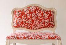 Sea coral fabrics