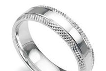 Men's Wedding Rings / A collection of wedding rings from Serendipity Diamonds. From plain to diamond set and patterned wedding rings created in a wide range of precious metals.