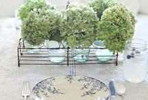 Table Decor / table settings, accent pieces and centerpieces / by Belinda Friedman