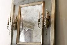 Mirror Decor / Mirror designs and wall mirror designs / by Belinda Friedman