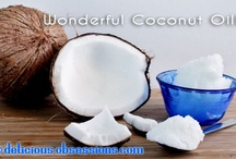 Uses for Coconut oil and Almond oil / by Pam Garrison