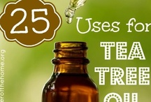 Uses for Tea Tree Oil / by Pam Garrison