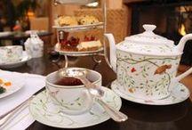 Pinkies Up / Afternoon tea delight!