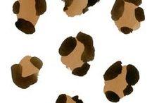 L E O P A R D / Leopard print, pattern, textile design