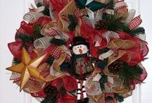 Christmas Wreaths / Christmas wreath styles