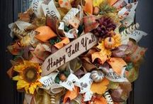Fall Wreaths / Wreaths for Fall