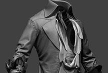 Cloths - MD, sculpts, folds, wrinkles