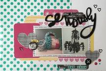 Scrapbooking-Everyday Layouts / by Janine