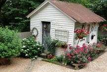 Cottage Garden Sheds / by Janine