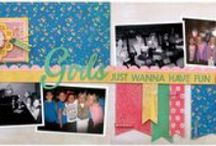 Scrapbooking-2 Page Layouts / by Janine
