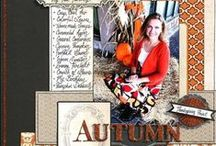 Scrapbooking-Fall Layouts / by Janine