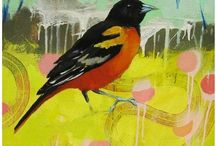 birds in art (including owls) and illustration / birds in art (including owls). paintings, drawings, graphic design, collage, sculpture ... any art form other than photography depicting a bird or owl. for photos, see my animals board or view my likes (where most uncredited photos go instead of getting pinned). / by dove and hedge