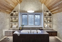 Transitional Bath Design / Photos of transitional bath projects