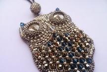 Beadwork - Owls