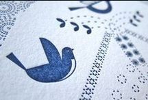 Letterpressy things / by The Paperbird Society