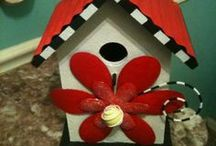 For the birds.... / Bird Houses and other delights for our feathered friends. / by Donna Griffin-Canada
