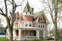 Dreamy Victorian Homes  / All my life, I have had a fascination with Victorian homes. I even have the blueprint picked out for mine.....some day. / by Donna Griffin-Canada