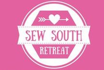Sew South Retreat / Sew South is a creative sewing and crafting retreat in Charlotte, NC. Small groups = big fun! Join me and check out www.sewsouthretreat.com for all the details.