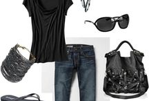 my pinterest closet / a few favorite outfits, accessories, & styles