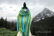 SCARVES | and cowls / Beautiful Scarves and Cowls. Handmade by Nikki Weiss. Made in Montana. Visit my shops at http://mymountainstudio.com and http://mymountainstudio.etsy.com.