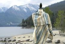 shawls and | WRAPS / Beautiful Shawls and Wraps. Handmade by Nikki Weiss. Made in Montana. Visit my shop at http://mymountainstudio.etsy.com or http://mymountainstudio.com.
