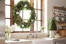 Inspiring Holiday Kitchens / Time to enhance your amazing kitchen with Holiday Decor.