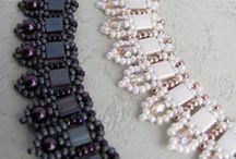 Beadwork - Tilas and Square beads