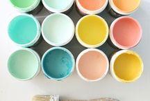 * color inspiration// farben / Farben, colors, colors