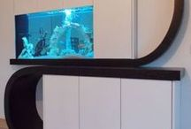 Aquarium Design / Just some of our Bespoke Aquarium installations