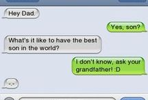 Awesome, Awful Autocorrect and Funny Texts! / There are some hilarious examples of autocorrect, or unplanned texting communication going on! / by Donna Griffin-Canada