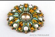 Beadwork - Piggy & Lentil beads