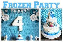 Frozen party / Frozen Party DIY Frozen printables / by The Bajan Texan