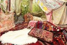 ♥ Bohemian Homes / Bohemian Homes... chill out....