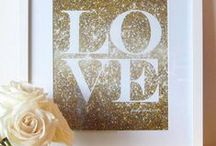 ♥ Gold / Everything that is golden and sparkles!