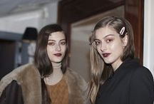 Women's AW16 Fashion Show Backstage / Backstage at the J.Lindeberg Women's  Autumn/Winter 2016 Fashion show