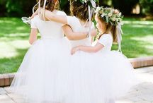 Inspiration Flower Girl / Flower girl acessories, flower crown