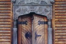 Door ways, gates & wrought iron