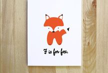 ♥ F is for Fox !