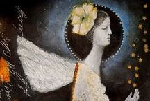 ANGELIC / angel paintings by artists