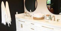 Beautiful Bathrooms / Inspiring decor for bathrooms big and small