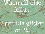 Everything that sparkles