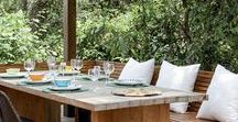 Al fresco Dining / Al fresco means: in the open air. So here's some ideas to help make it happen