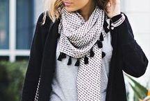 Zomersjaals: knooptips / Draag je sjaal zó in de zomer! Knooptips & inspiratie.