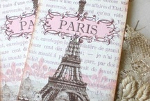 Oooo La La  / Not sure what my fascination with Paris is... maybe it's because I'm a hopeless romantic... Oui Oui