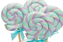 On the Good Ship LOLLIPOP / They are whimsical, happy and yummy...  I ♥ lollipops