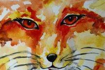 Laura Heilman Art / Paintings, mixed media art, photography and twiggy frames by Laura Heilman, Wildwood Family Studio / by Laura Heilman