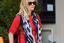Celebrity's & sjaals / Zie hoe celebrity's hun sjaal dragen en geef nog meer glamour aan je outfit!