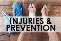 • Running Injuries & Prevention • / Everything you need to know about the best techniques for running injury prevention, running injury management and injury treatment, including what to do in the first few hours of getting an injury.